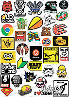 Наклейки Sticker Bomb ST005-3042