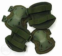 Наколенники и налокотники тактические , комплект наколенников и налокотников защитный 9мм Германия