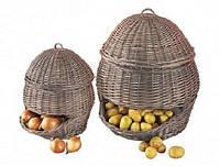 Корзина Natural House PL02-L, 47х34 см, для овощей и фруктов