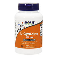 NOW_L-Cysteine 500 мг - 100 таб
