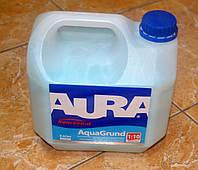 Влагозащитная грунтовка-концентрат глубокого проникновения Koncentrat  Aqua Crunt Aura Eskaro  3 л