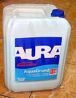 Влагозащитная грунтовка-концентрат глубокого проникновения Koncentrat  Aqua Crunt Aura Eskaro  10 л
