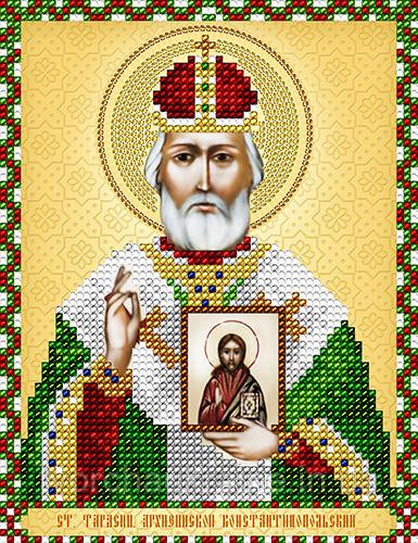 Схема на ткани для вышивания бисером Ст. Тарасий Архиепископ Константинопольский