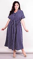 Стильное платье Сара, большие размеры