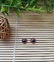 Глазки коричневые 8 мм, фото 1