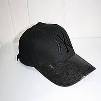 Кепка NY черная в стиле