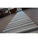 Ковровая дорожка Лущув Sky 80x100 см серая прямоугольная (Q2495), фото 5