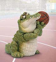 "Статуэтка ""Крокодил баскетболист"" (Sealmark) CD-7123 SC"