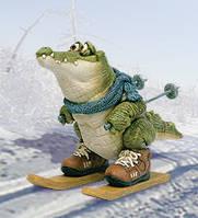 """Статуэтка """"Крокодил лыжник"""" (Sealmark) CD-7126 SC"""
