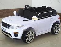 Детский электромобиль Ренж Ровер Land Rover Range Rover M 5396EBLR-1, белый (красный, оранжевый), MP3, EVA.