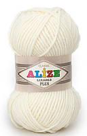 Alize Lanagold Plus молочный №62
