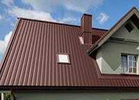 Профнасти для крыши идеальный вариант кровли.