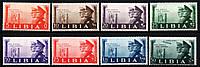 Ливия 1941 - Гитлер, Муссолини. MNH
