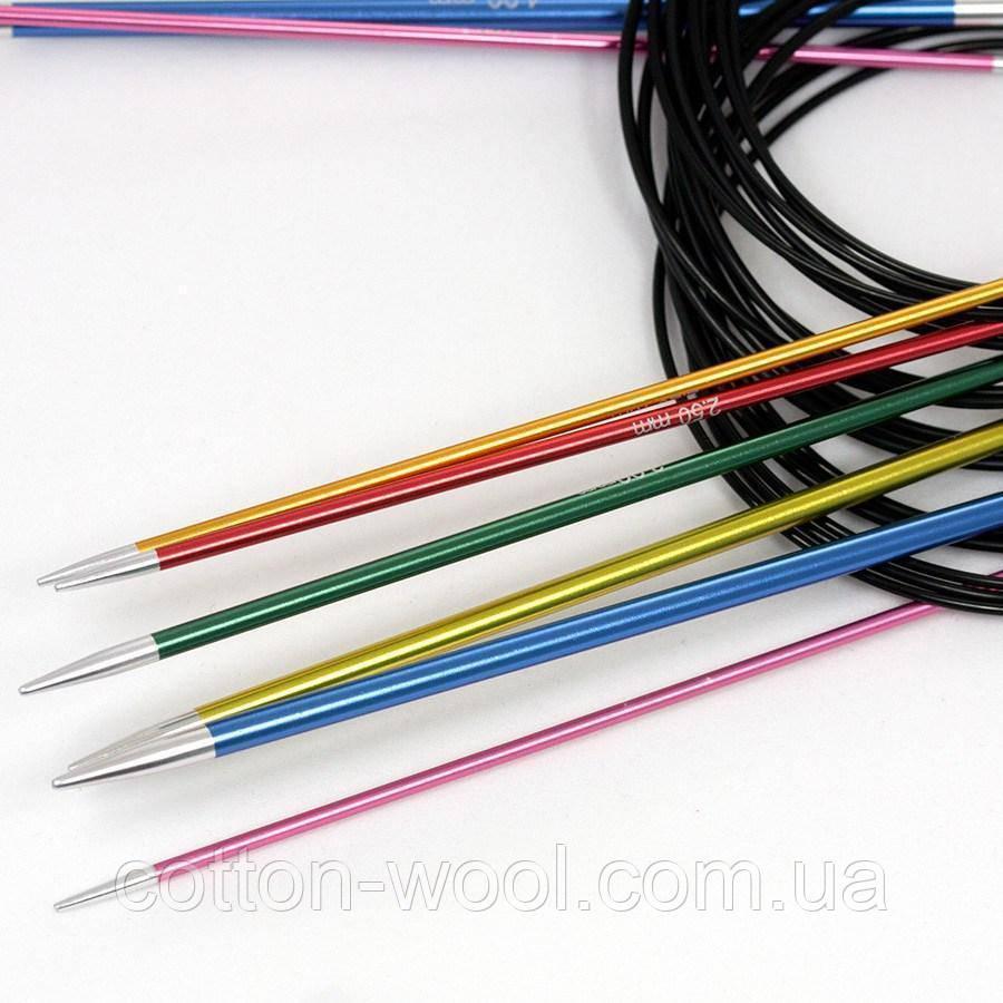 Кругові спиці 3,0 мм 150 см Zing KnitPro