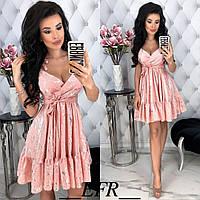 Женское летнее платье с принтом, фото 1