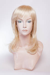 Парик из термоволокна №6.Цвет классический блонд