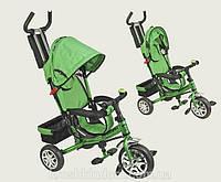 Велосипед трехколесный детский Lexus Super Trike VT1434 зеленый пена резина колеса