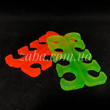 Разделитель для педикюра (растопырки), силикон, пара