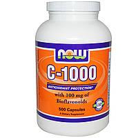 Биофлавоноиды Витамин С 1000 Now Foods 500 капсул