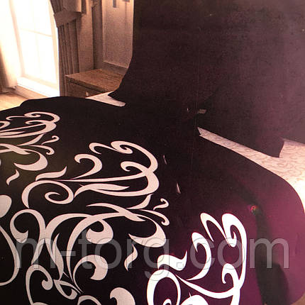 Комплект постельного белья двуспальный 180/220, нав-ки 70/70, ткань поплин, 100% состоит из хлопка, фото 2