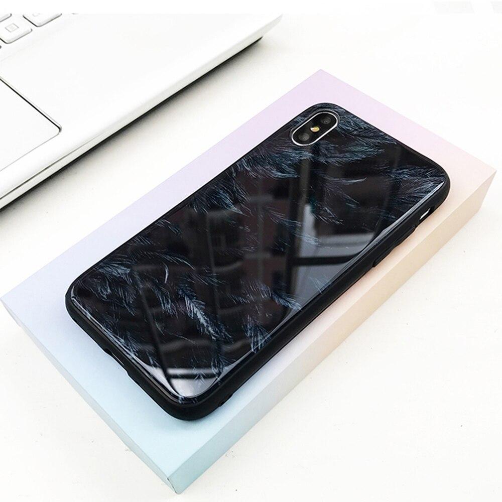 Чехол для Apple iPhone 6 plus 6s plus Black Feathers