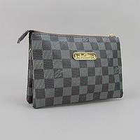 Сумка малая кожзам женская серая Louis Vuitton, фото 1