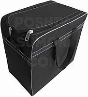 Сумка черная тканевая, для покупок  размер 48-48-28 см (д-в-ш)