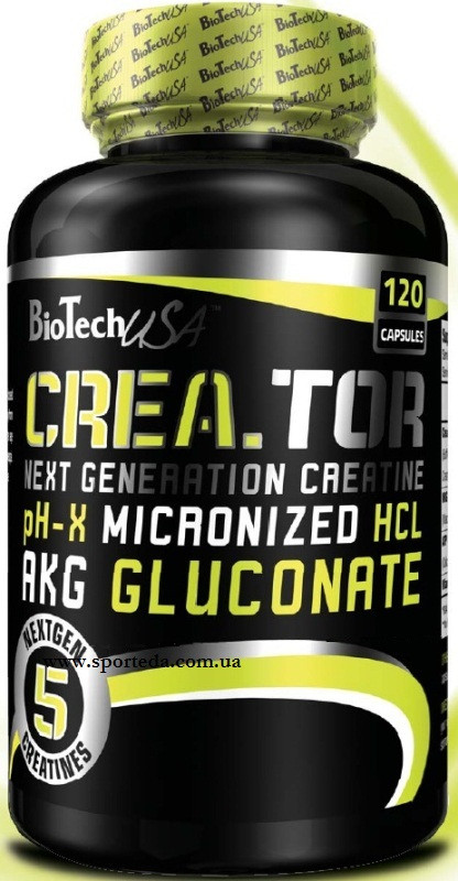 Креатин BioTech Crea - TOR 120 Caps