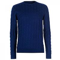 Джемпер Pierre Cardin Jacqard Knitted Midnight Blue,  (10078811)
