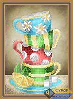 Схема для вышивки бисером - Натюрморт из кружек, Арт. ДБч5-170