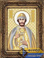 Схема для вышивки бисером - Борис Святой Благоверный Князь, Арт. ИБ4-165-2