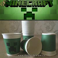 """Картонные стаканы Minecraft - """"Minecraft Cupkids"""" - 1 шт."""