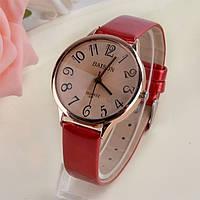 Часы женские Geneva красные