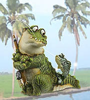 "Садовая фигурка ""Крокодил"" (Sealmark) CD-7115 XC"