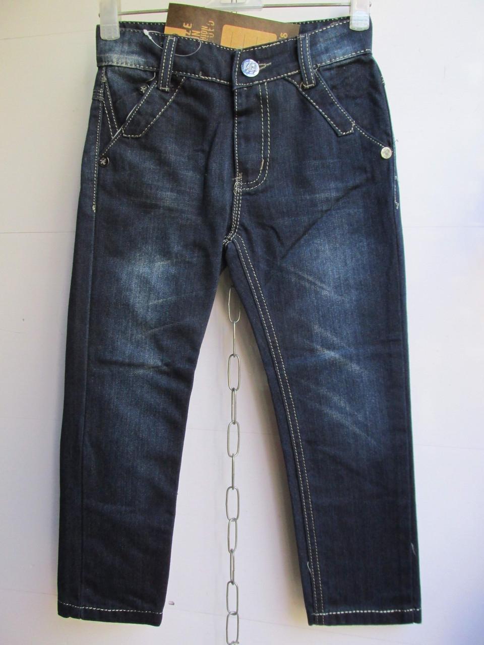 """Детские джинсы на мальчика арт. Z013 (7-12 лет) """"Kinder-1"""" ZL-1384"""