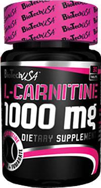 BioTech L-Carnitine 1000 mg 60 tabs, фото 2