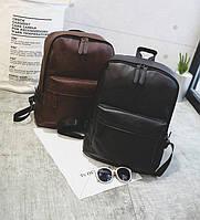 Городской мужской рюкзак кожаный