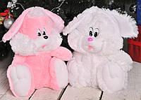 Мягкая игрушка - зайчик сидячий Сашка 35 см