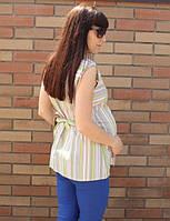 Рубашка безрукавка для беременных ТМ NEW STAR