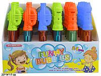 """Мыльные пузыри """"Дудка"""", 2 вида, 3 цвета, ЦЕНА ЗА УП., В УП.24шт, в кор.20*14*17см (288шт)"""