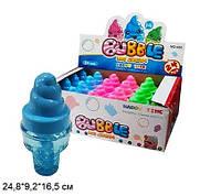 """Мыльные пузыри """"Мороженое"""", 3 цвета, ЦЕНА ЗА УП., В УП.24шт, в кор. 24,8*9,2*16,5см (432шт)"""