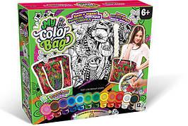 Сумка-раскраска My color bag Маки COB-01-06