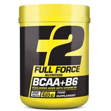 Амінокислоти Full Force F2 BCAA + B6 150 tabs, фото 2
