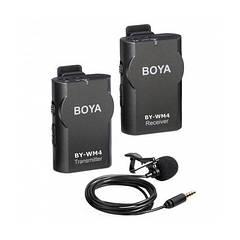 Беспроводной петличный радио микрофон BOYA BY-WM4 Mark II