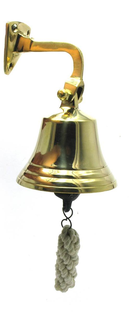 "Колокол рында бронзовый (d-8,h-16 см)(3"")"