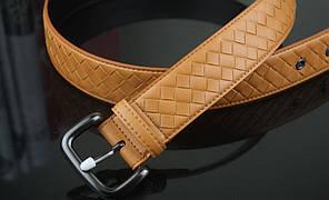 Bottega Veneta Ebano Intrecciato VN Belt