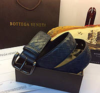 Мужской ремень Bottega Veneta Light Tourmaline Intrecciato VN Belt