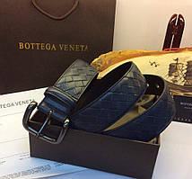 Мужской ремень Bottega Veneta Light Tourmaline Intrecciato VN Belt