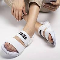 Hyuna x Puma Leadcat YLM Lite Sandal White | сандалии / босоножки женские; белые; летние