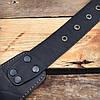 Патронташ поясной закрытый на 39 патр., двухрядный с кож. лямками. Черный (кожа), фото 5